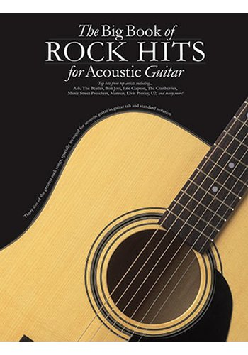 The Big Book of Rock Hits for Acoustic Guitar (Partition)