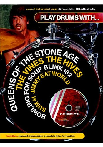 Play Drums With… Queens Of The Stone Age, The Vines, The Hives, Jimmy Eat World, Blink 182, Sum 41 And Bowling For Soup