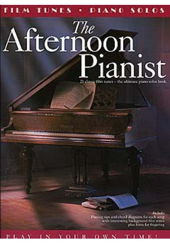 The Afternoon Pianist: Film Tunes For Piano Solo
