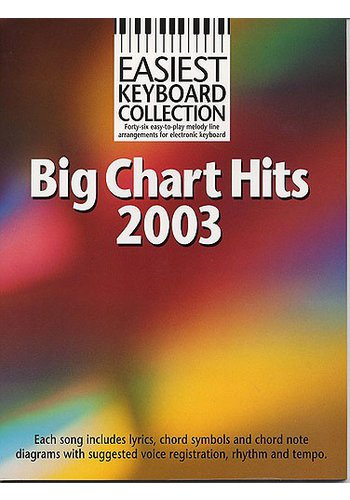 Easiest Keyboard Collection : Big Chart Hits 2003 (Partition)