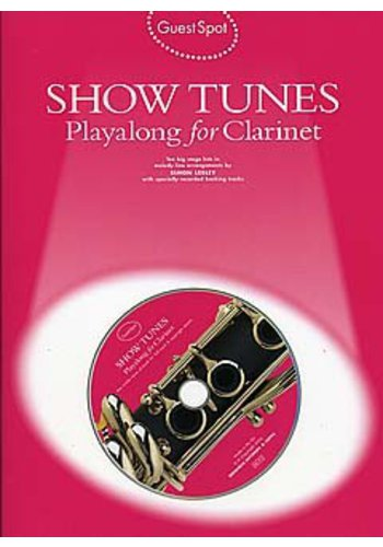Guest Spot: Show Tunes Playalong For Clarinet