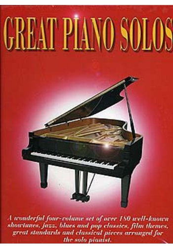 Great Piano Solos Slipcase Edition