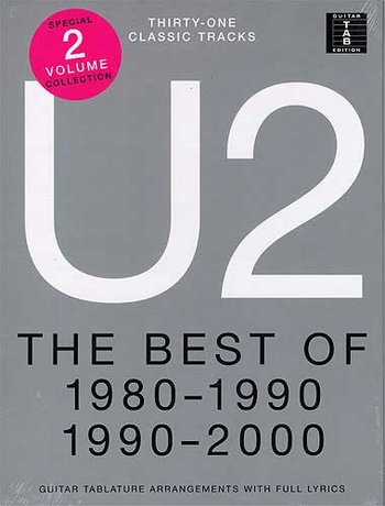 U2 : The Best Of 1980-1990 and 1990-2000 (Partition)