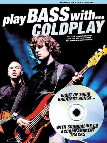 Play Bass With... Coldplay (Partition+CD)