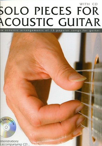 Solo Pieces for Acoustic Guitar (Partition+CD)