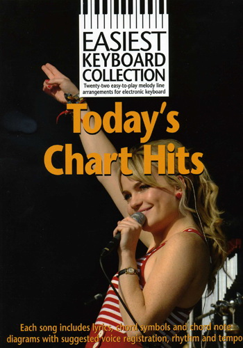 Easiest Keyboard Collection : Today's Chart Hits