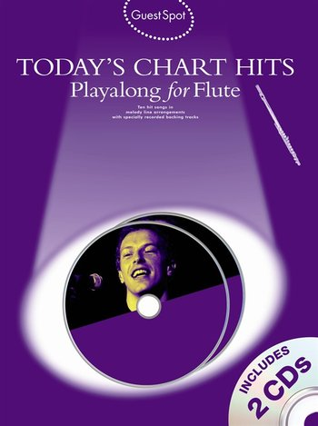 Guest Spot : Today's Chart Hits - Playalong for Flute