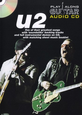Play Along Guitar Audio - U2 (Partition+CD)