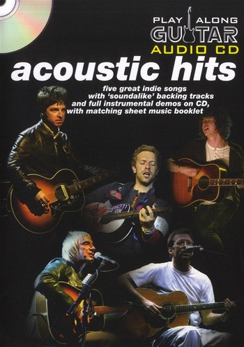 Play Along Guitar Audio CD : Acoustic Hits (Partition+CD)