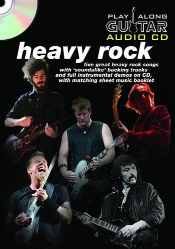 Play Along Guitar Audio CD : Heavy Rock (Partition+CD)