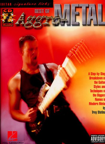 Best of Aggro Metal (Guitar Signature Licks) (Partition+CD)
