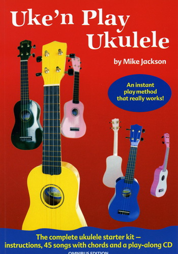 Uke' N Play Ukulele (Partition+CD)