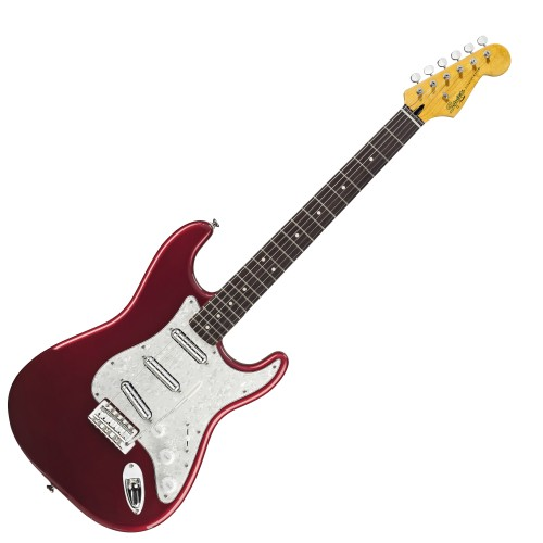 SQUIER VINTAGE MODIFIED SURF STRATOCASTER CANDY APPLE RED