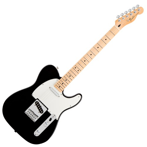 FENDER STANDARD TELECASTER BLACK MAPLE