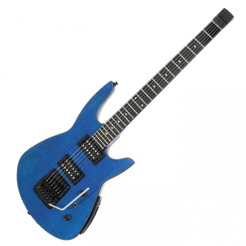 STEINBERGER ZT3 TRANS TREM CUSTOM OUTFIT TRANS BLUE