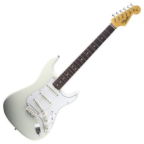 FENDER AMERICAN VINTAGE '65 STRATOCASTER OLYMPIC WHITE RW