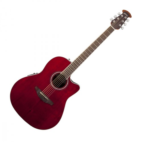 OVATION CS24-RR CELEBRITY STANDARD RUBY RED