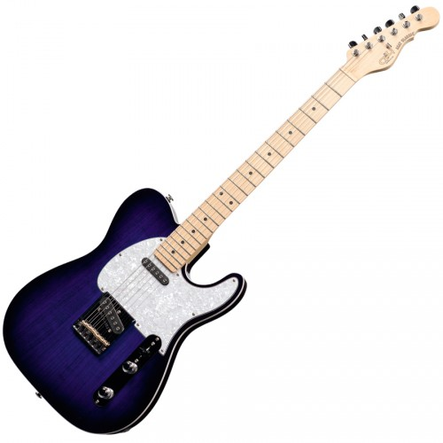 G&L USA GUITARE ASAT CLASSIC BLUEBURST/ERABLE