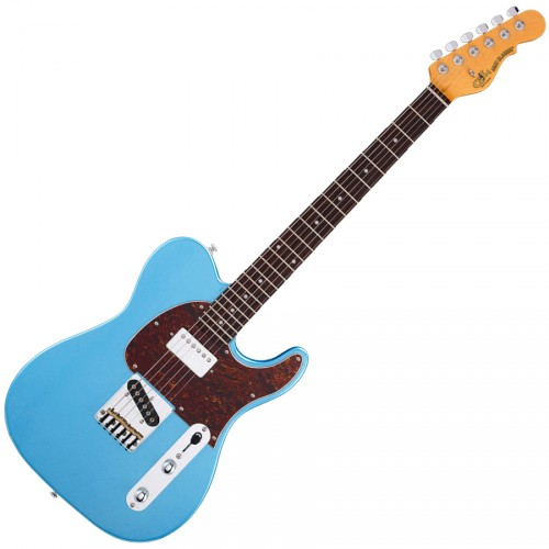 G&L TRIBUTE CLASSIC BLUESBOY LAKE PLACID BLUE/PALISSANDRE