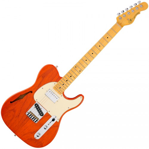 G&L TRIBUTE ASAT CLASSIC CLEAR ORANGE/ERABLE