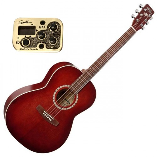 ART & LUTHERIE ELECTRO - SPRUCE BURGUNDY