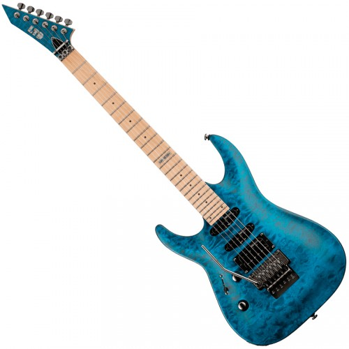 ESP LTD MH-103QMLH-STB QUILTED MAPLE BLUE GAUCHER