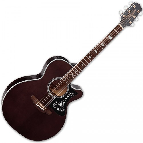 TAKAMINE GN75CE-TBK ELECTRO CUTAWAY TRANSPARENT BLACK