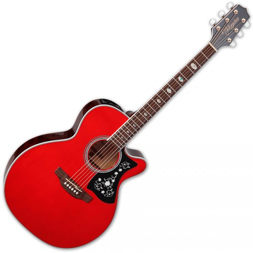 TAKAMINE GN75CE-WR ELECTRO CUTAWAY WINE RED
