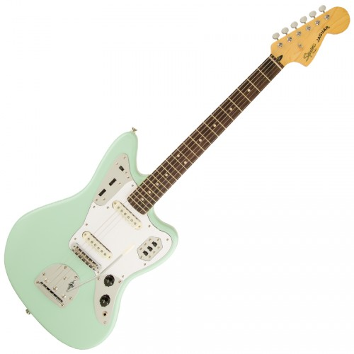SQUIER VINTAGE MODIFIED JAGUAR SURF GREEN