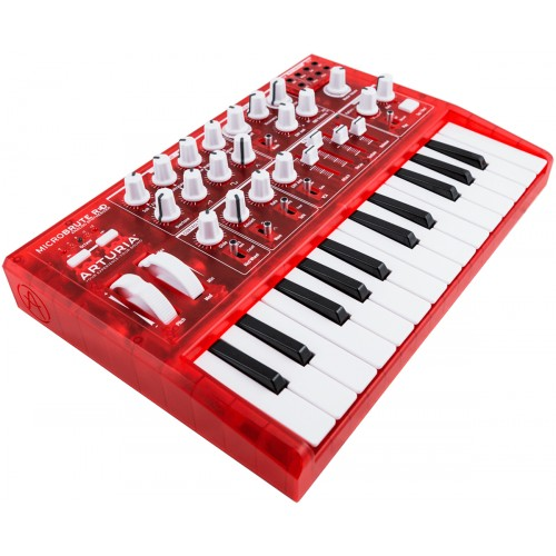 ARTURIA MICROBRUTE RED EDITION LIMITEE
