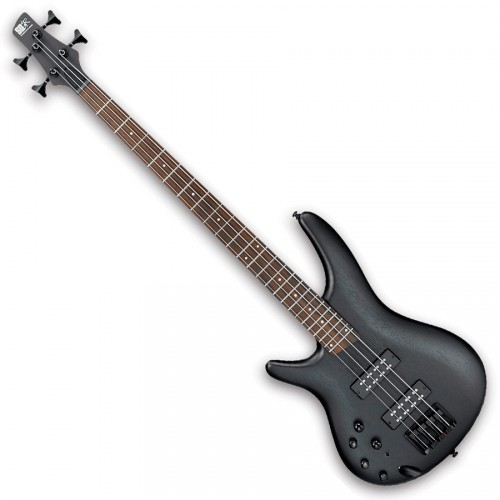 IBANEZ SR300EBL-WK - WHEATHERED BLACK GAUCHER