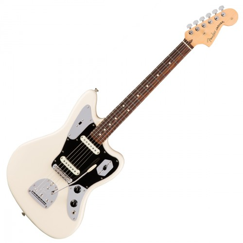 FENDER AMERICAN PROFESSIONAL JAGUAR OLYMPIC WHITE RW