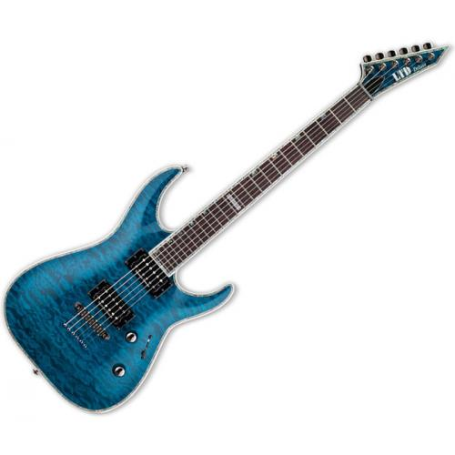 ESP LTD MH-1000 SEE THRU BLUE