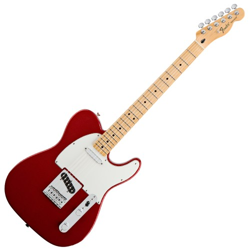 FENDER STANDARD TELECASTER CANDY APPLE RED MAPLE