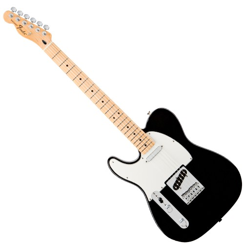 FENDER STANDARD TELECASTER BLACK MAPLE GAUCHER