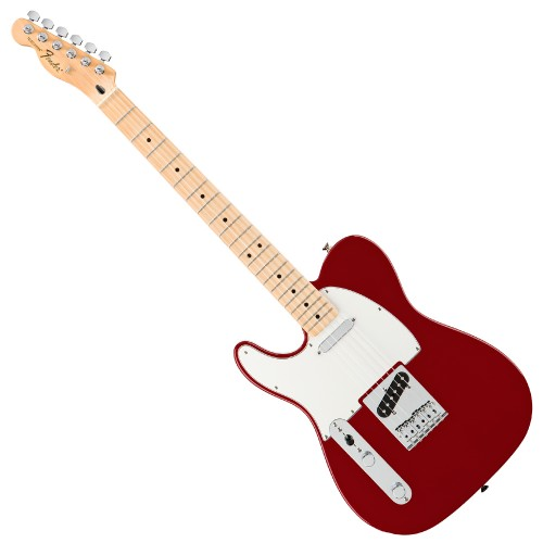 FENDER STANDARD TELECASTER CANDY APPLE RED MAPLE GAUCHER