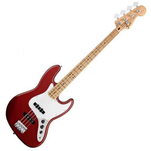 FENDER STANDARD JAZZ BASS CANDY APPLE RED MAPLE