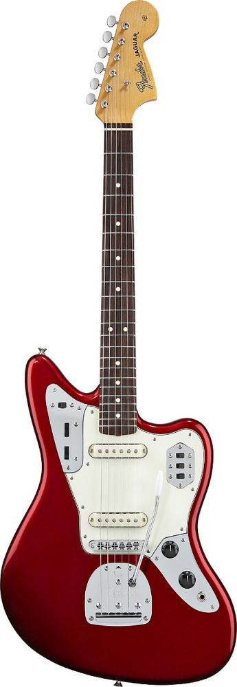 Fender Mexican Classic Player Jaguar Candy Apple Red + Housse