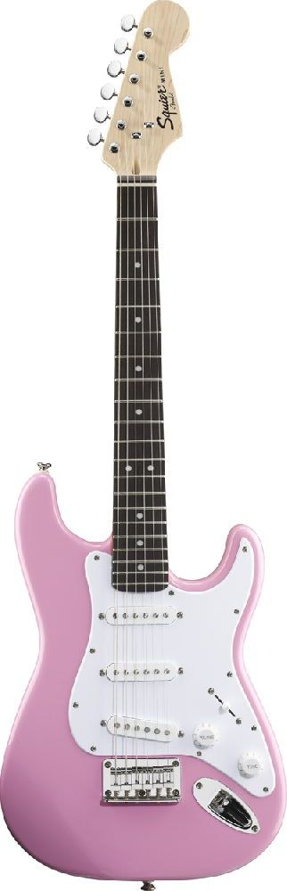 SQUIER BY FENDER MINI PINK