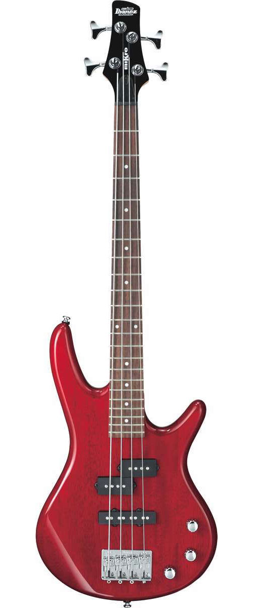 Ibanez Gsrm20 Tr Mikro Transparent Red + Housse