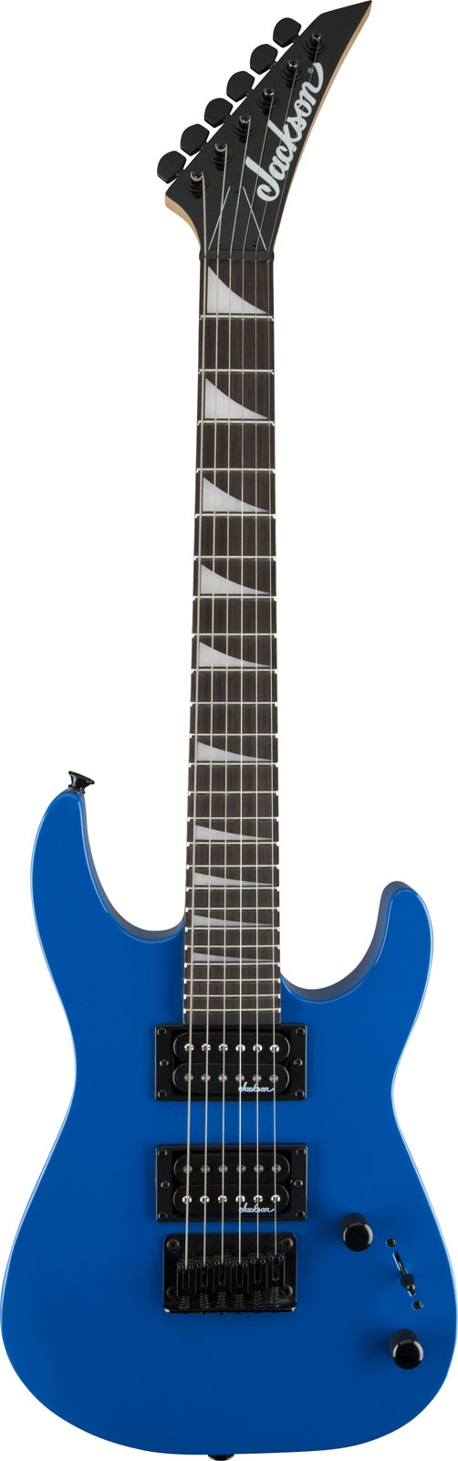 Jackson Guitare Electrique Jackson Js 1x Dinky Minion Rn Bright Blue