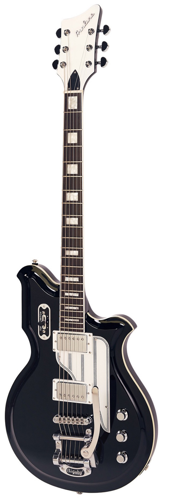 EASTWOOD AIRLINE MAP BARITONE DLX BLACK
