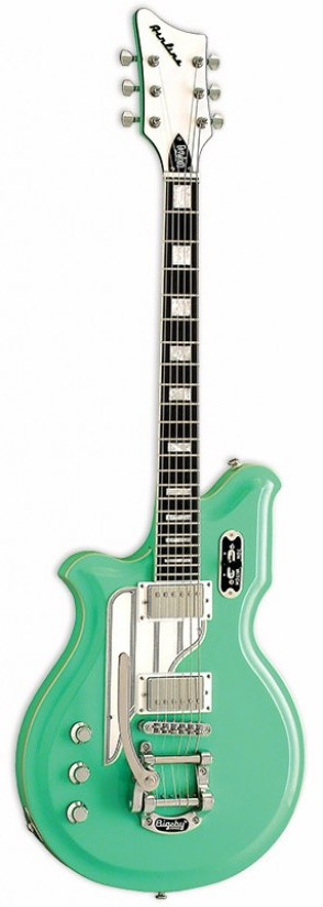 EASTWOOD GAUCHER AIRLINE MAP DLX LH SEAFOAM GREEN