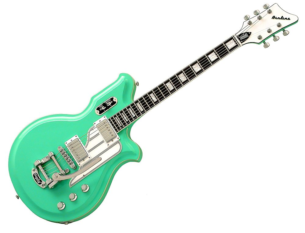 EASTWOOD AIRLINE MAP DLX SEAFOAM GREEN