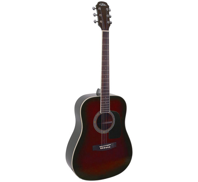 ARIA AD18RS DREADNOUGHT RED