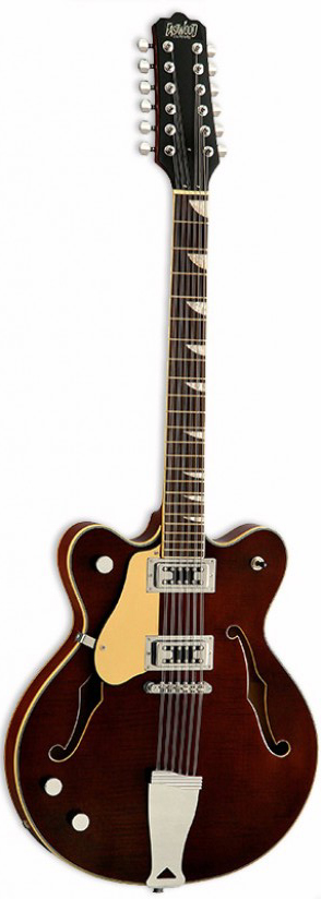 EASTWOOD GAUCHER CLASSIC 12 LH WALNUT