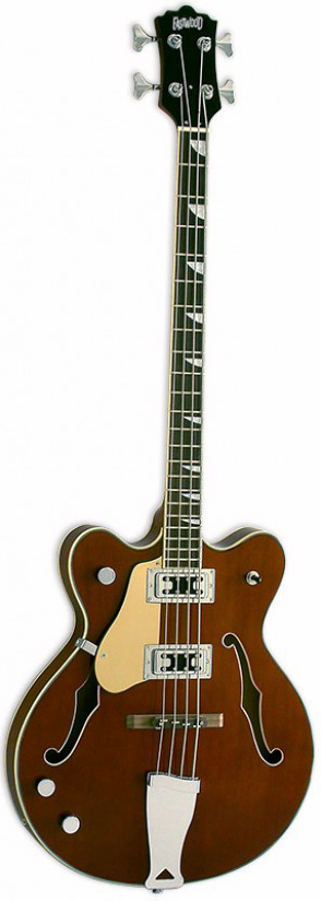 EASTWOOD GAUCHER CLASSIC 4 WALNUT LH