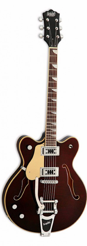 EASTWOOD GAUCHER CLASSIC 6 DLX LH WALNUT