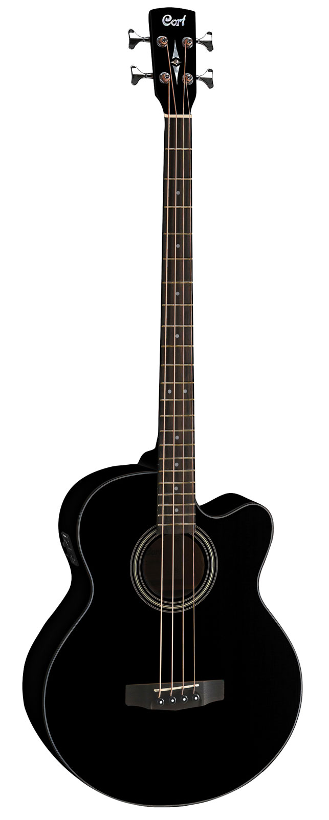 Cort Sjb5f Gloss Black + Housse