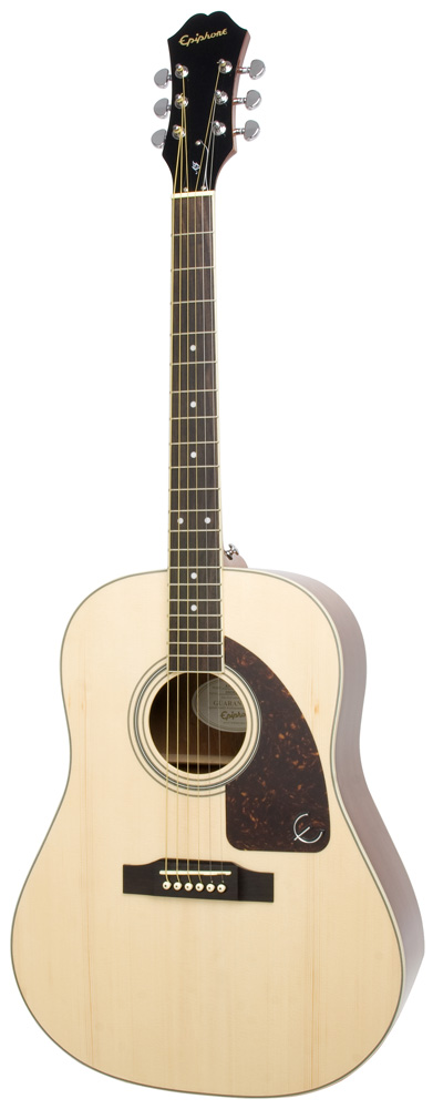 Epiphone Aj 220s Solid Top Natural